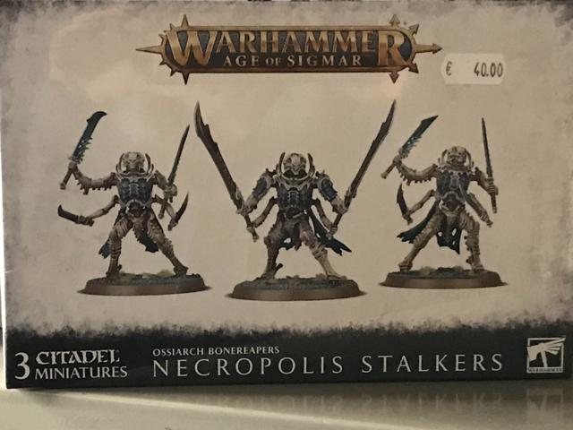 Warhammer Age of Sigmar Ossiarch Bonereapers
